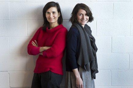 Mouna Andraos et Melissa Mongiat... (Photo: Robert Skinner, La Presse)