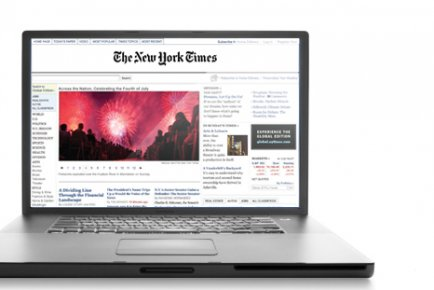 Le New York Times (NYT), revigoré par le gain de...