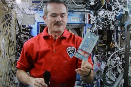 Chris Hadfield...
