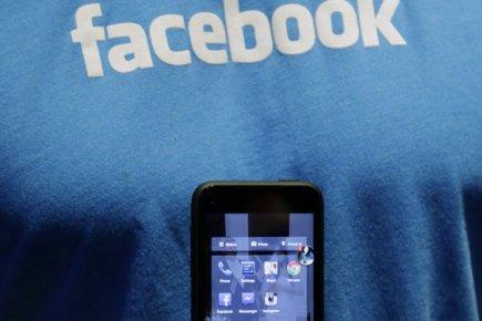 Facebook a augmenté au premier trimestre les recettes qu'il tire des publicités...