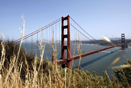 Le pont Golden Gate à San Francisco, en... (Photo : Erin Lubin, Bloomberg)
