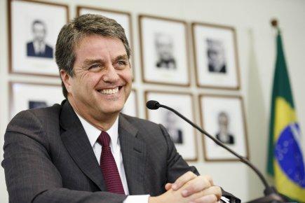 Le Brésilien Roberto Azevedo, élu récemment à la... (Photo : Valentin Flauraud, Reuters)