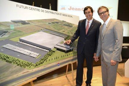 François J. Coutu, président et chef de la... (Photo CNW)