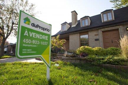 La propriété d'une maison est devenue légèrement moins abordable pour les... (PHOTO MARTIN CHAMBERLAND, LA PRESSE)