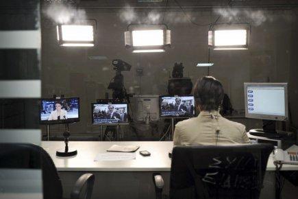 Le signal de l'ERT pourrait reprendre dès mercredi,... (PHOTO LOUISA GOULIAMAKI, AFP)