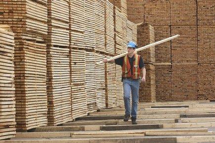Le secteur des produits du bois, industrie d'importance... (Photo: archives PC)