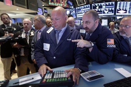 La Bourse de New York avait clôturé en... (PHOTO ARCHIVES AP)