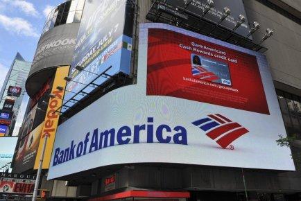 Les autorités américaines ont décidé mardi de poursuivre Bank of America (BofA)... (PHOTO STAN HONDA, AFP)