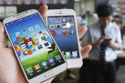 Les accusations d'Apple pour quatre autres brevetsont toutefois... (Photo KIM HONG-JI, Reuters)
