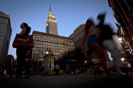 L'Empire State building, à New York.... (PHOTO Carlo Allegri, ARCHIVES Reuters)