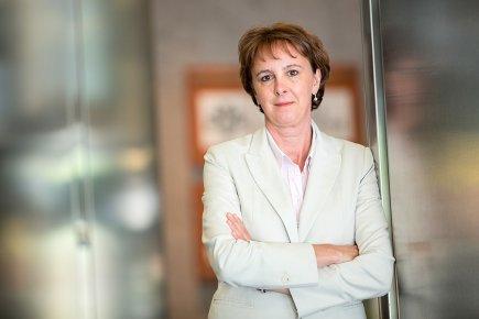 Isabelle Courville, nouvelle présidente du conseil d'administration de... (Photo Édouard Plante-Fréchette, La Presse)