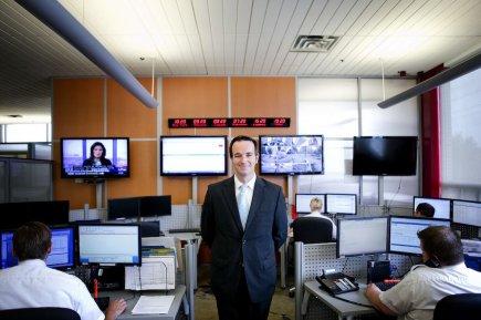 Sébastien Leroux, directeur exécutif des services de protection... (PHOTO MARCO CAMPANOZZI, LA PRESSE)