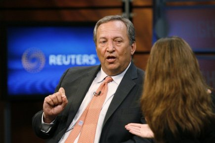 Lawrence Summers, 58 ans, qui a été principal... (PHOTO MOLLY RILEY, REUTERS)