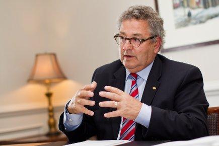 Éric Forest, président de l'Union des municipalités du... (Photo Edouard Plante-Frechette, La Presse)