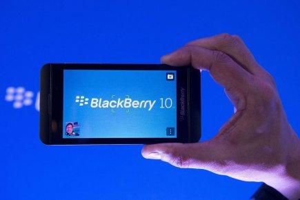 BlackBerry, qui a décidé vendredi de supprimer 4500... (PHOTO NATHAN DENETTE, PC)