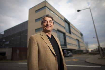 Basil Favis, fondateur de Cerestech, a utilisé les... (Photo André Pichette, La Presse)