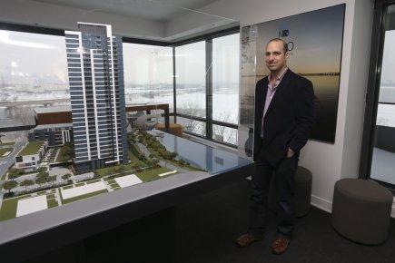 Ilan Gewurz, promoteur immobilier, est optimiste pour le... (PHOTO MARTIN CHAMBERLAND, LA PRESSE)