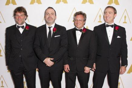Robert Lanciault, André Gauthier, Benoît Sévigny et Yves... (Photo Aaron Pool/A.M.P.A.S)