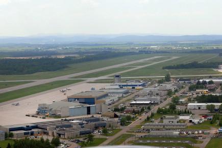 Quel avenir aurait la Base aérienne de Bagotville,... ((Photo Mariane L. St-Gelais))