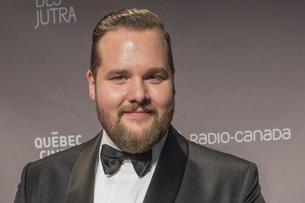 Antoine Bertranda été couronné meilleur acteur du cinéma... (PHOTO LA PRESSE CANADIENNE)