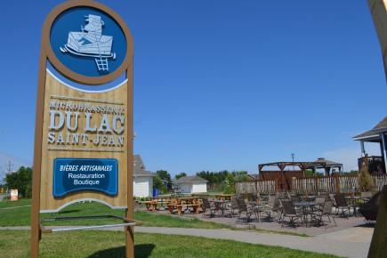 La Microbrasserie du Lac-Saint-Jean.... ((Archives))