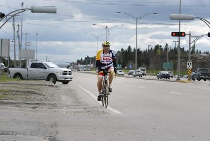 J'ai sorti mon vélo. Fin mai, c'est pas trop tôt! Déception : Saguenay n'a pas... (Archives Jeannot Lévesque)