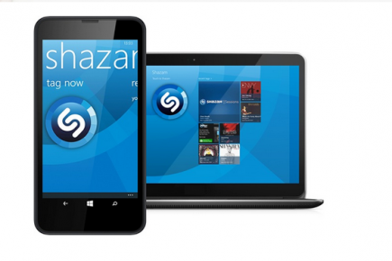 L'application de reconnaissance musicale Shazam