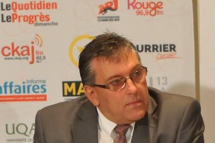 André Poulin... ((Photo Jeannot Lévesque))