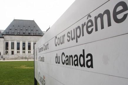 Le jugement de la Cour Suprême, c'est une... ((Photo Le Droit, Étienne Ranger))