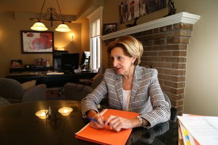Me Roseline Ménard de l'étude Ménard & Paquette... (Photo Janick Marois)