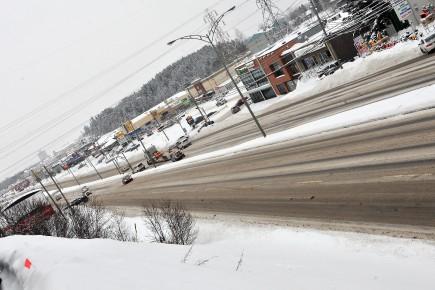 Saguenay souhaite revamper le boulevard Talbot à Chicoutimi... (Archives Le Progrès-Dimanche)