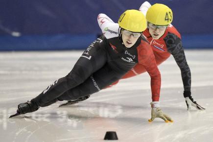 La patineuse de vitesse Marianne St-Gelais... (Archives Le Quotidien)