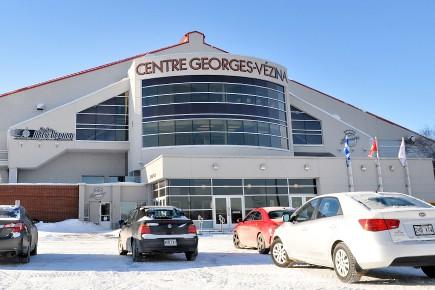 Le Centre Georges-Vézina... (Archives Le Quotidien)