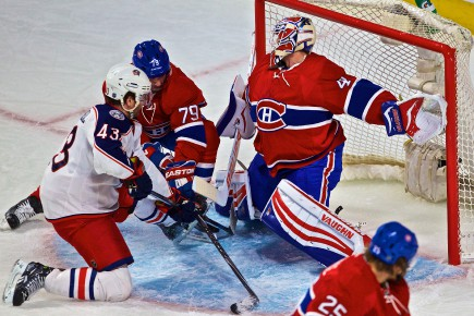 Les Canadiens ont perdu 5 à 2 contre... (Archives Le Quotidien)