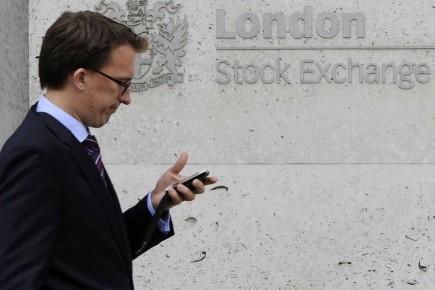 Inquiétude au parquet de la Bourse de Londres.
