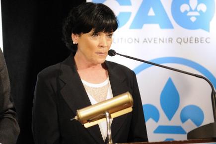 La candidate caquiste dans Chicoutimi, Hélène Girard... (Archives Le Quotidien)