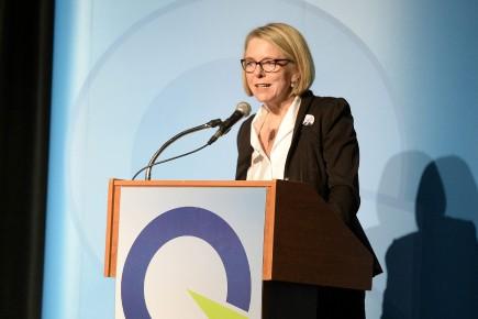 Mireille Jean représente le PQ aux élections partielles... (Photo Le Quotidien, Jeannot Lévesque)
