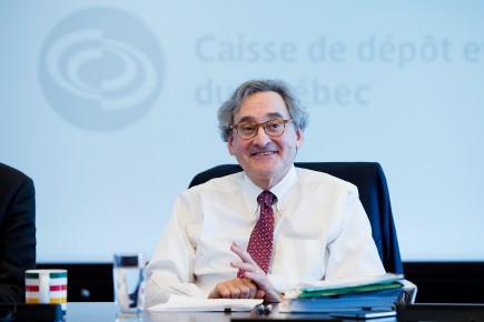 Le grand patron de la Caisse de dépôt et placement du Québec, Michael Sabia, est en poste depuis mars 2009.