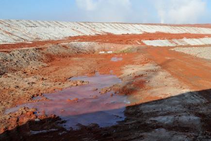 Le site d'entreposage des résidus de bauxite de... (Archives Le Quotidien)