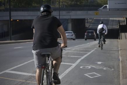 Pour les nombreux adeptes de vélo, le printemps coïncide avec les premiers... (Archives La Presse)