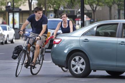 L'auteur recommande aux cyclistes d'éviter certaines artères.... (Archives)