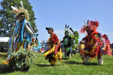 La communauté autochtone de Mashteuiatsh était ici l'hôte,... (Archives Le Quotidien, Gimmy Desbiens)