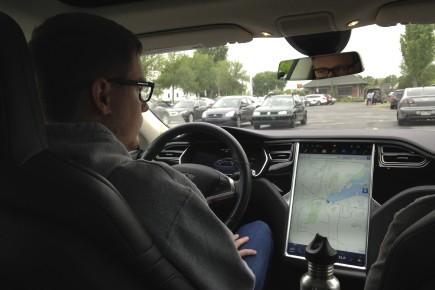 La Tesla a été sans contredit le véhicule... (Julie Catudal,La Voix de l'Est)