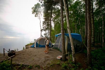 CHRONIQUE / Voici une histoire de camping, mais aussi une histoire de famille. (Archives La Presse)