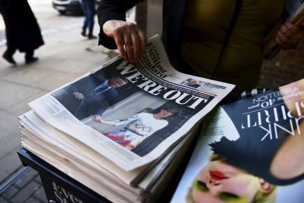 51,9% des électeurs ont voté pour le Brexit... (Agence France-Presse)