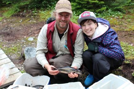Le guide de chasse et pêche du secteur... (Photo Le Progrès-Dimanche, Roger Blackburn)