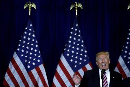 «Ces accords commerciaux sont un désastre. L'Organisation mondiale du commerce est un désastre», a déclaréDonald Trump.