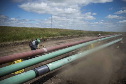 L'oléoduc Énergie Est transporterait le pétrole de l'Alberta... (Archives Le Soleil)