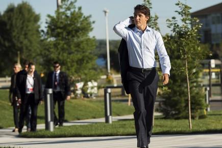 Le premier ministre Justin Trudeau passera quelques jours... (Archives PC)