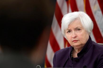 La présidente de la Fed, Janet Yellen.